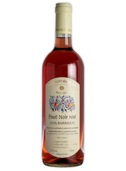 Pinot Noir rose Barrique 2015
