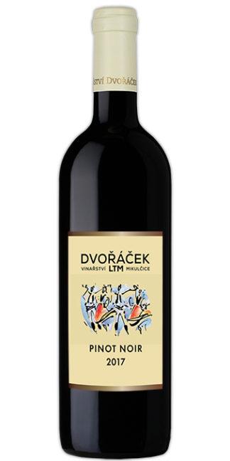 Pinot noir, pozdní sběr, suché, 2017