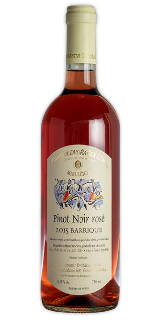 Pinot Noir rose Barrique 2015