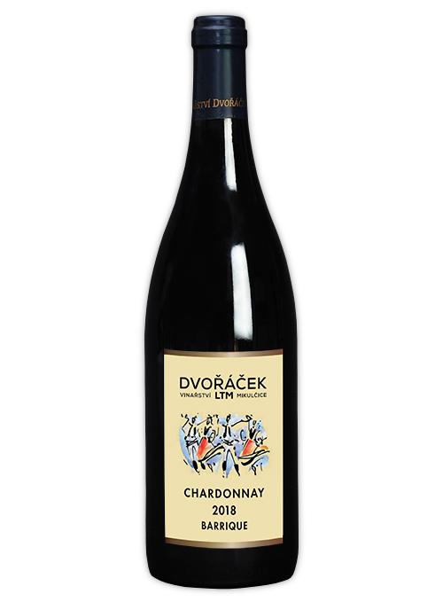 Chardonnay pozdní sběr suché 2018 barrique