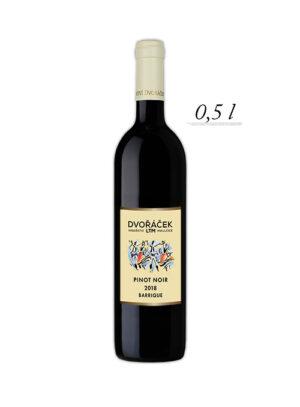 Pinot Noir výběr z bobulí, polosladké, 2018 barrique