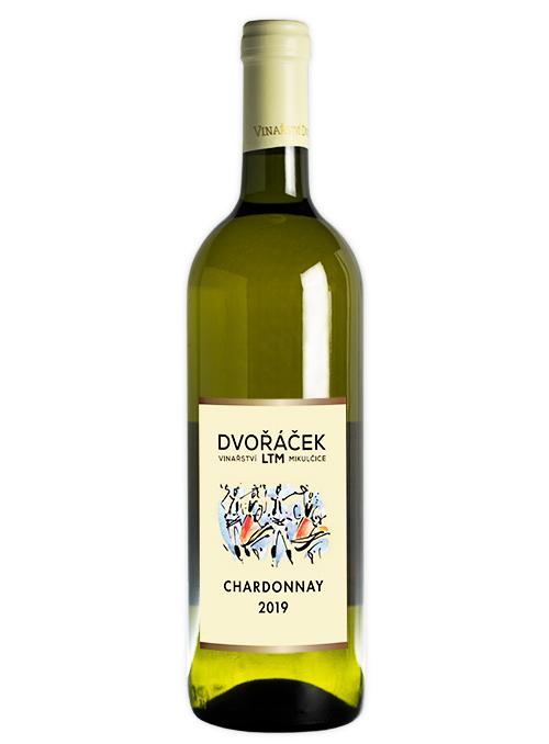 Chardonnay sur-lie, pozdní sběr, suché, 2019